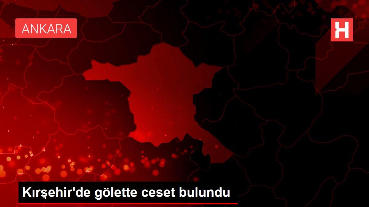 Kırşehir'de gölette ceset bulundu