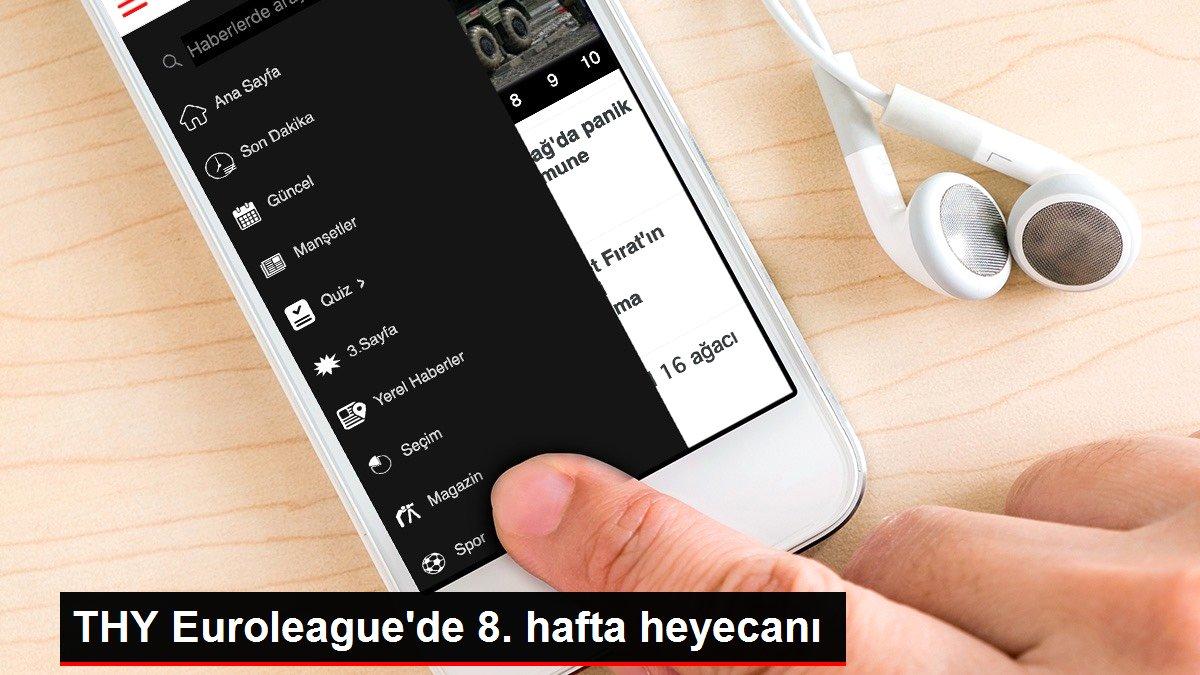 THY Euroleague'de 8. hafta heyecanı
