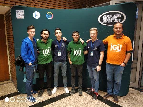 Türk ekip 'Robot Şampiyonası'ndan ödülle döndü