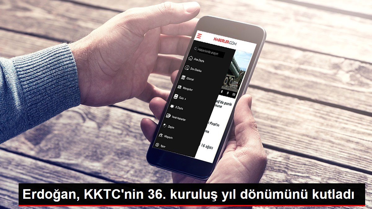 Erdoğan, KKTC'nin 36. kuruluş yıl dönümünü kutladı