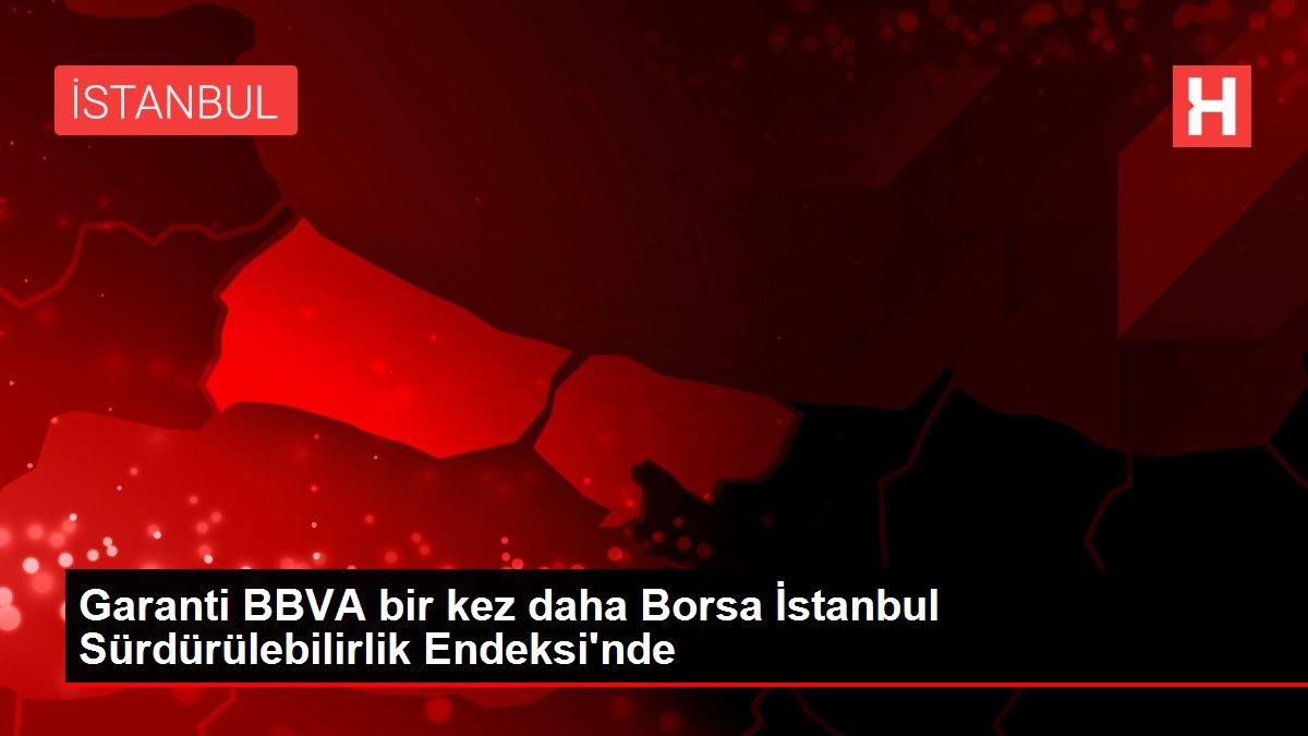 Garanti BBVA bir kez daha Borsa İstanbul Sürdürülebilirlik Endeksi'nde