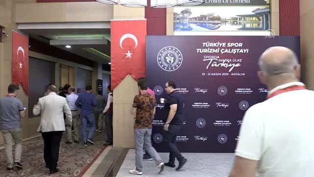 (TEKRAR) Türkiye, spor turizminden daha fazla pay almak istiyor