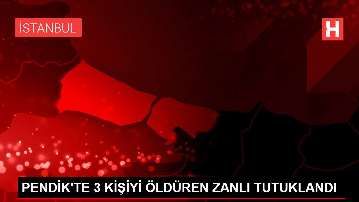 PENDİK'TE 3 KİŞİYİ ÖLDÜREN ZANLI TUTUKLANDI