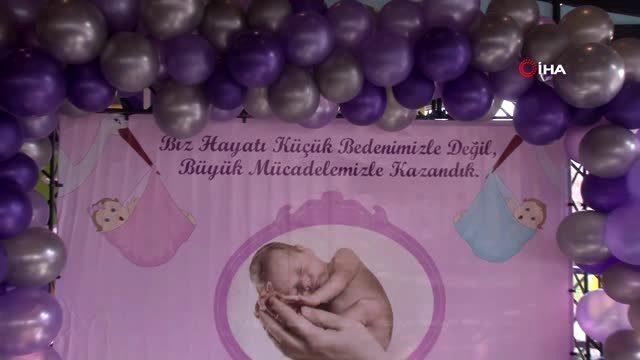Prematüre doğan 60'a yakın bebek Özel Ümit ile bir araya geldi