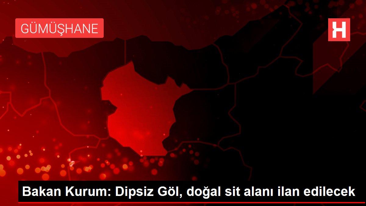Bakan Kurum: Dipsiz Göl, doğal sit alanı ilan edilecek