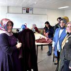 Sanat İşleyen Eller ve Yöresel Lezzetler Kadın Kooperatifi üyeleri İhsangazi'yi ziyaret etti