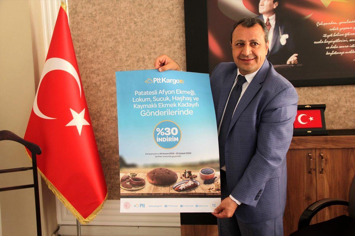 Afyonkarahisar'da PTT'den yöresel ürün kampanyası