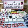 Elazığ'da gümrük kaçağı 13 cep telefonu ele geçirildi