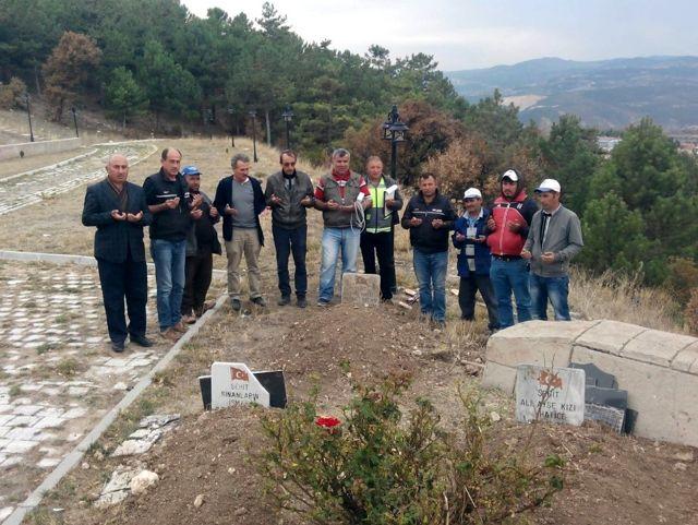 Emet'te 7 mezar daha nakledildi