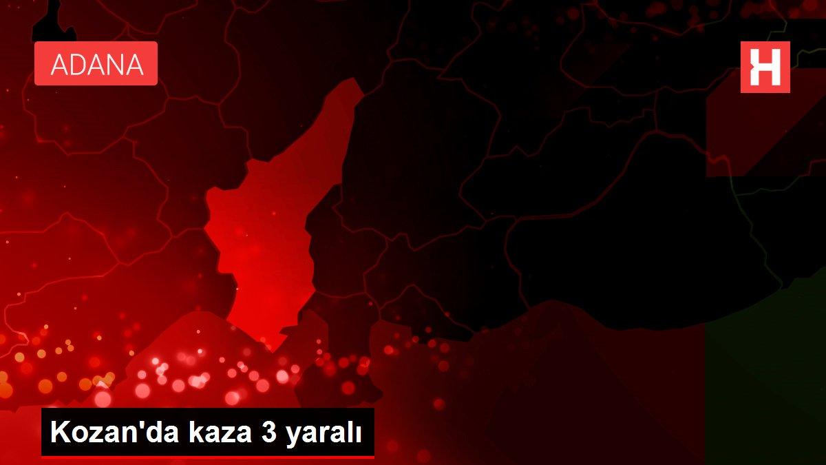 Kozan'da kaza 3 yaralı