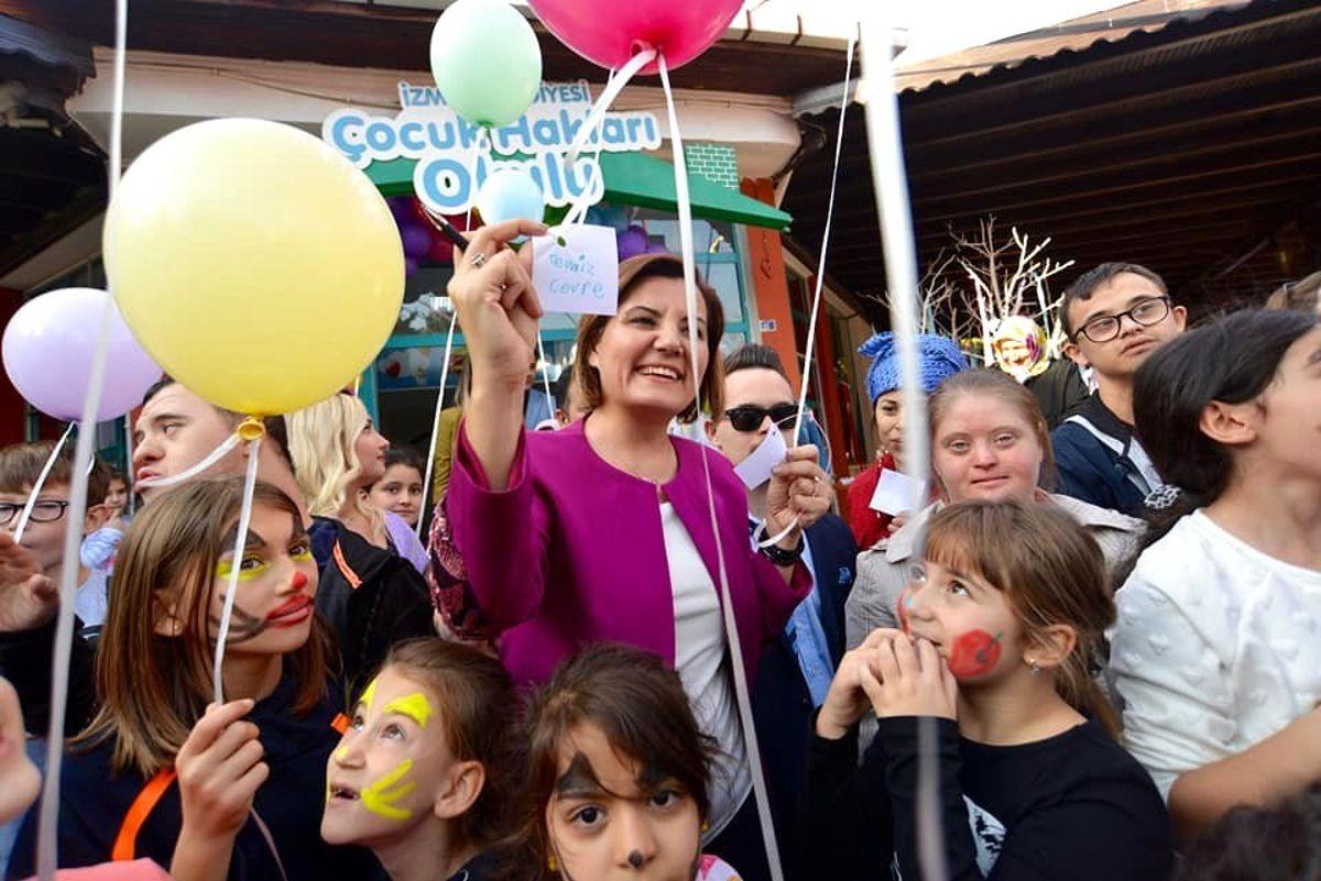 Çocuk Hakları Gününde doyasıya eğlendiler