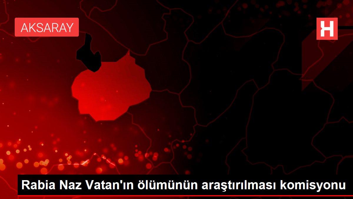 Rabia Naz Vatan'ın ölümünün araştırılması komisyonu