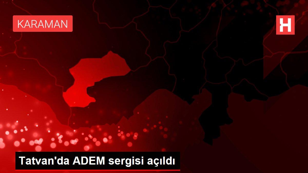 Tatvan'da ADEM sergisi açıldı
