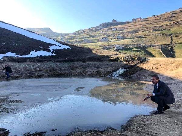 Erdoğan'ın talimatı sonrası harekete geçildi: Dipsiz Göl'e su verilmeye başlandı