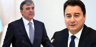Ayfer Yılmaz: Kulisleri sallayan iddia: Gül ve Babacan 1 Aralık'ta Demokrat Parti'ye katılıyor