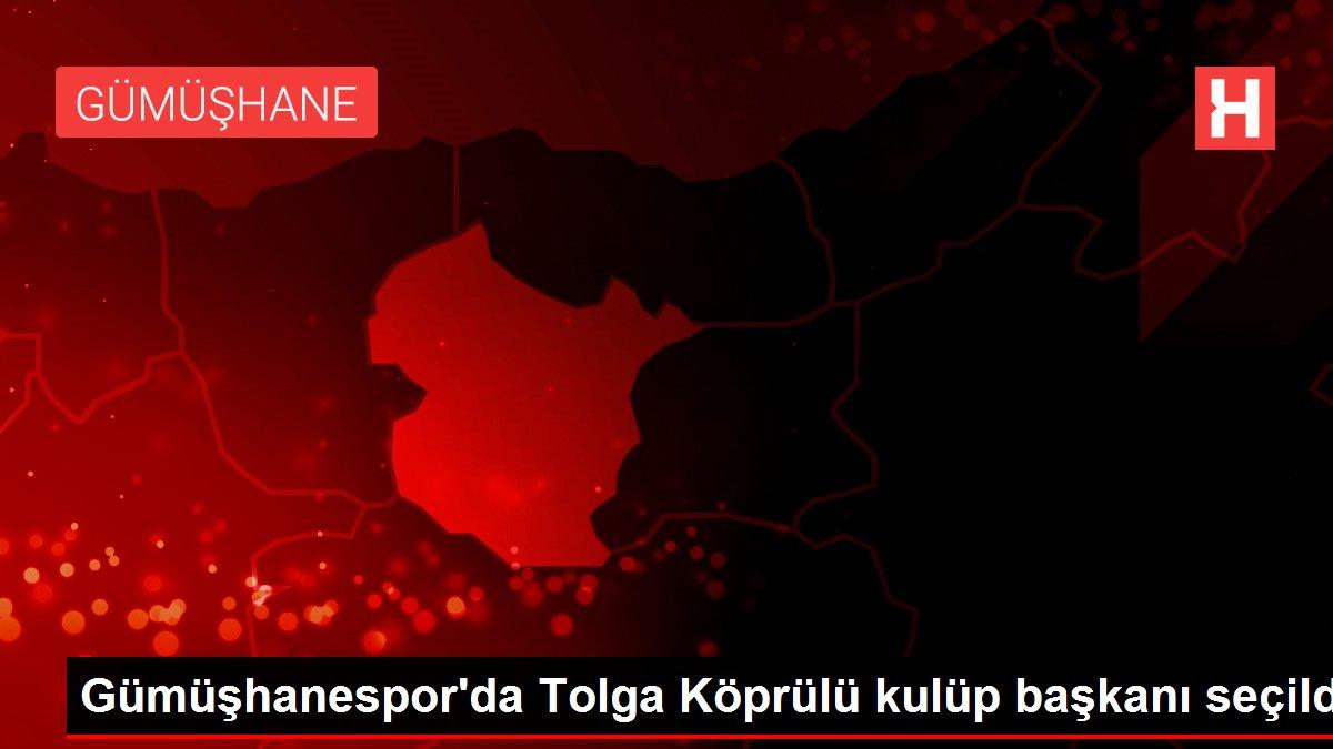 Gümüşhanespor'da Tolga Köprülü kulüp başkanı seçildi