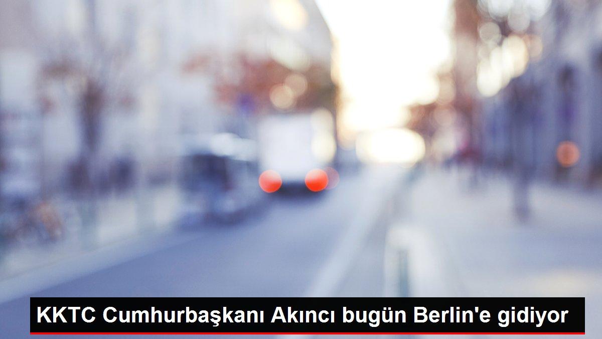 KKTC Cumhurbaşkanı Akıncı bugün Berlin'e gidiyor