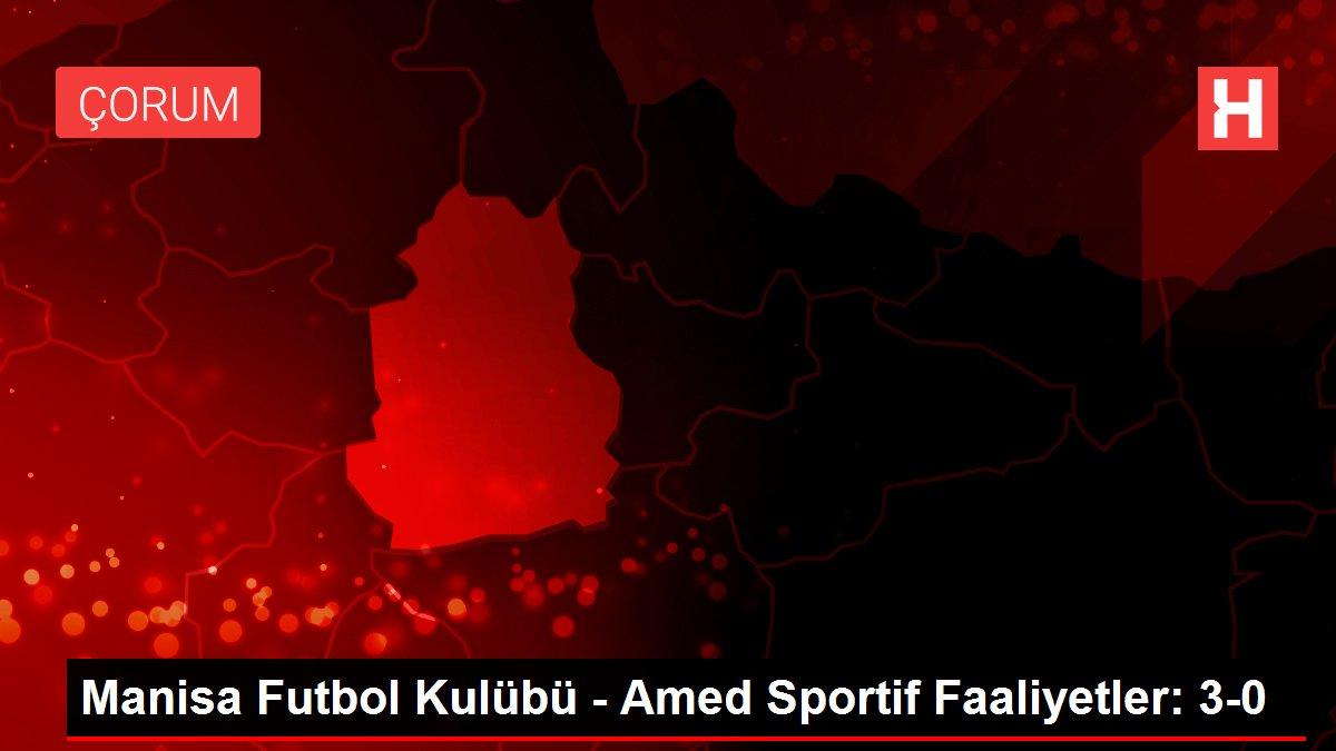 Manisa Futbol Kulübü - Amed Sportif Faaliyetler: 3-0