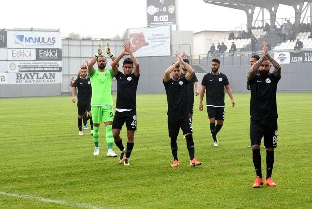 TFF 2. Lig: Manisa FK: 3-Amed Sportif Faaliyetler: 0