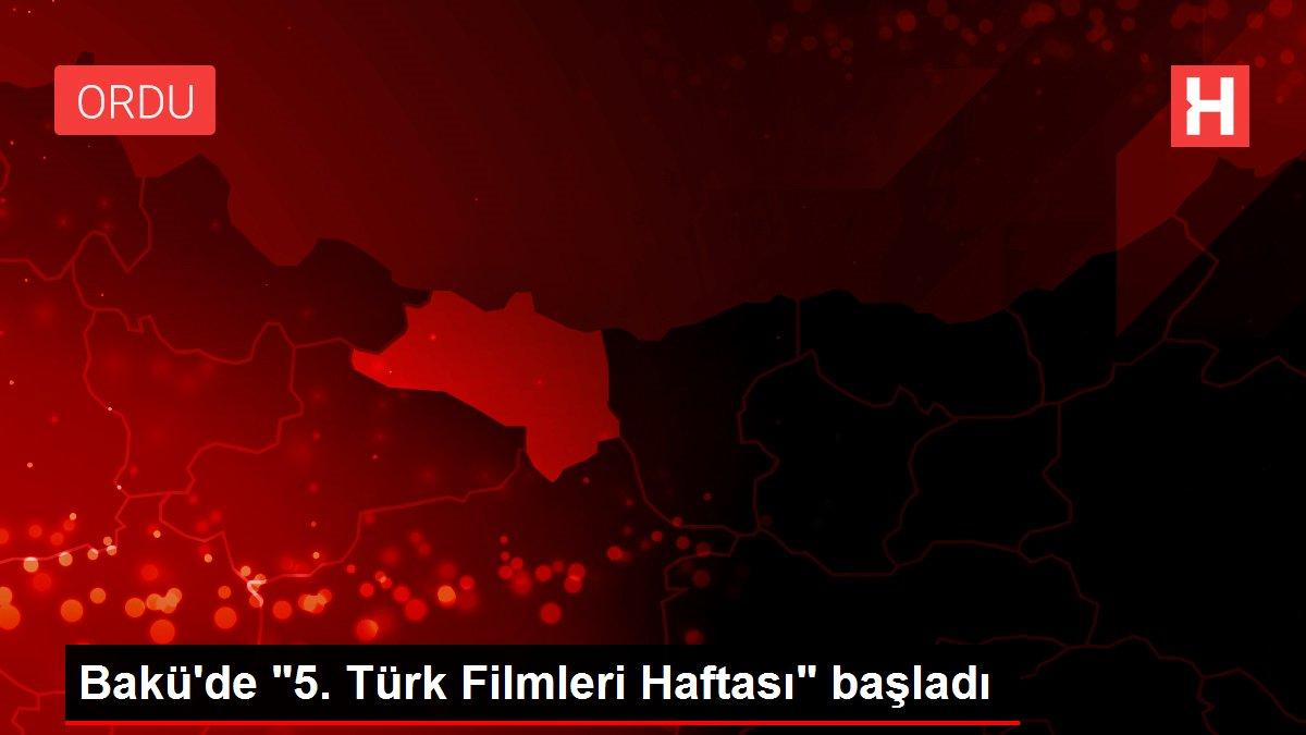Bakü'de 5. Türk Filmleri Haftası başladı
