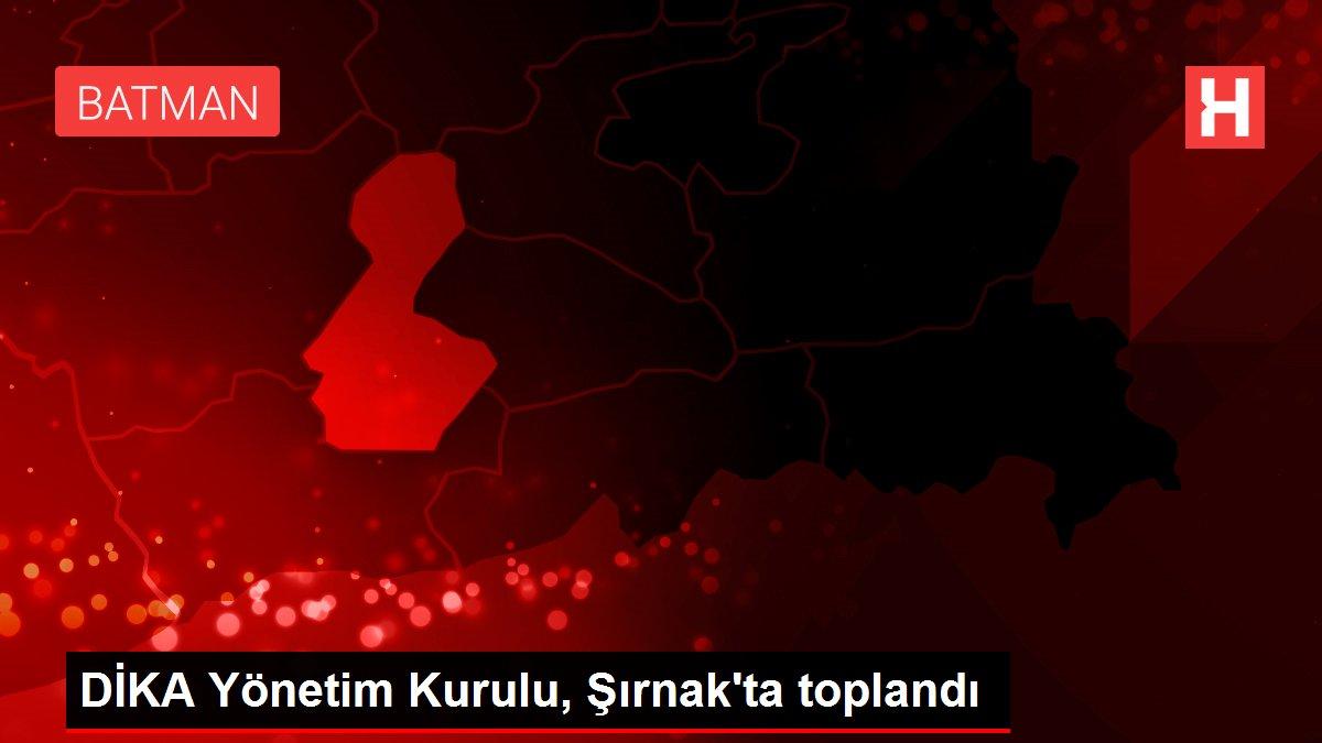 DİKA Yönetim Kurulu, Şırnak'ta toplandı