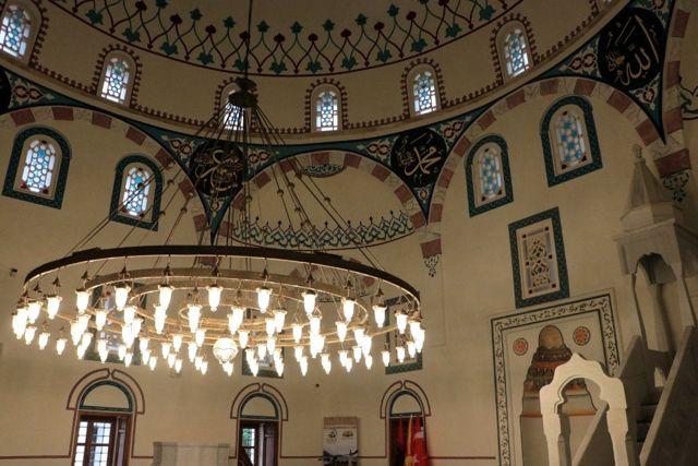 Ohri Ali Paşa Cami'nden 107 yıl sonra ezan sesi yükseldi
