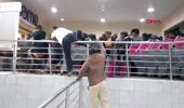 Kara cuma alışverişi izdihama neden oldu
