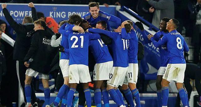 Çağlar'lı Leicester, Cenk'li Everton'ı mağlup etti