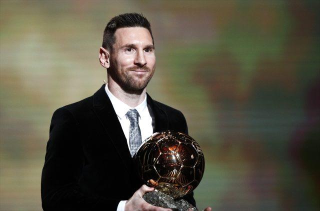 2019 Ballon d'Or Lionel Messi'nin - Spor