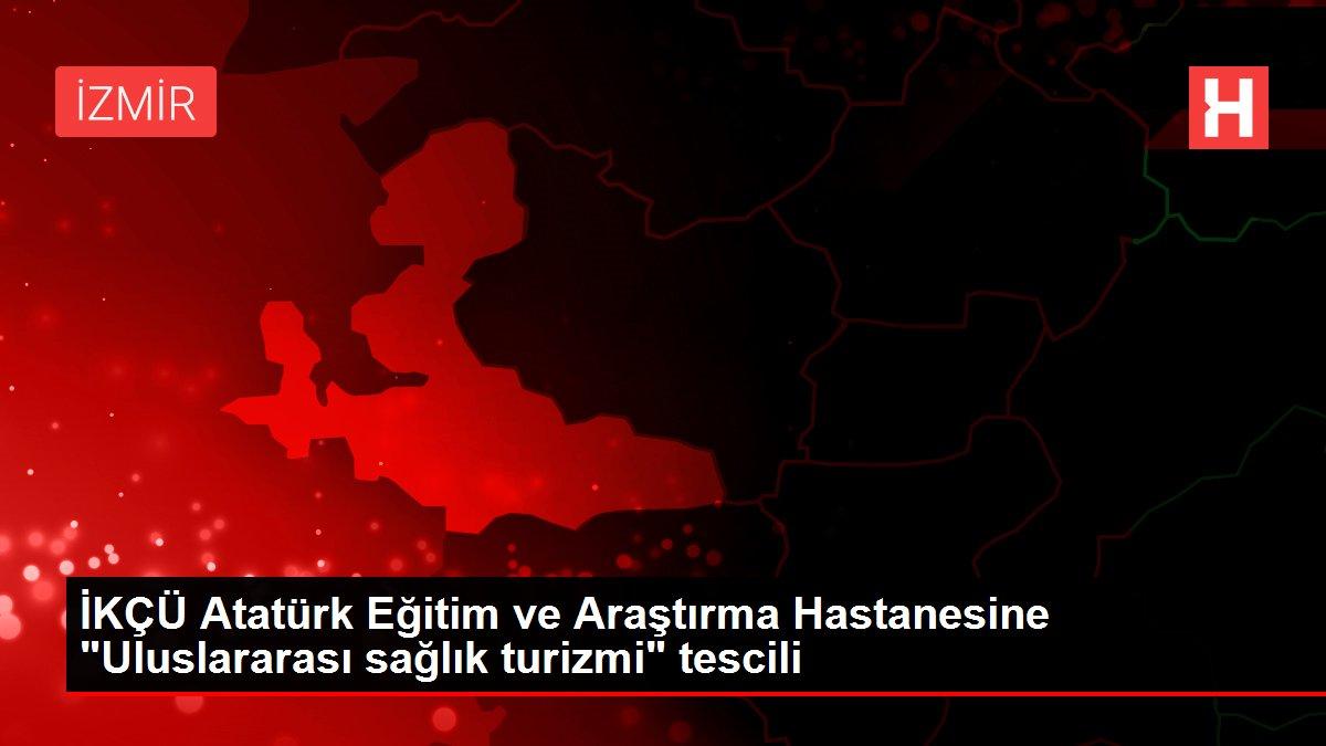 İKÇÜ Atatürk Eğitim ve Araştırma Hastanesine