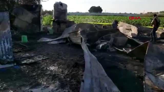 Ürdün'de pakistanlıların kaldığı çiftlik evinde yangın 8'i çocuk 13 ölü