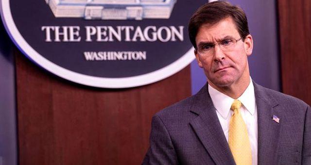 ABD Savunma Bakanı Esper: YPG'nin 'terör örgütü' olarak tanınmasını desteklemem