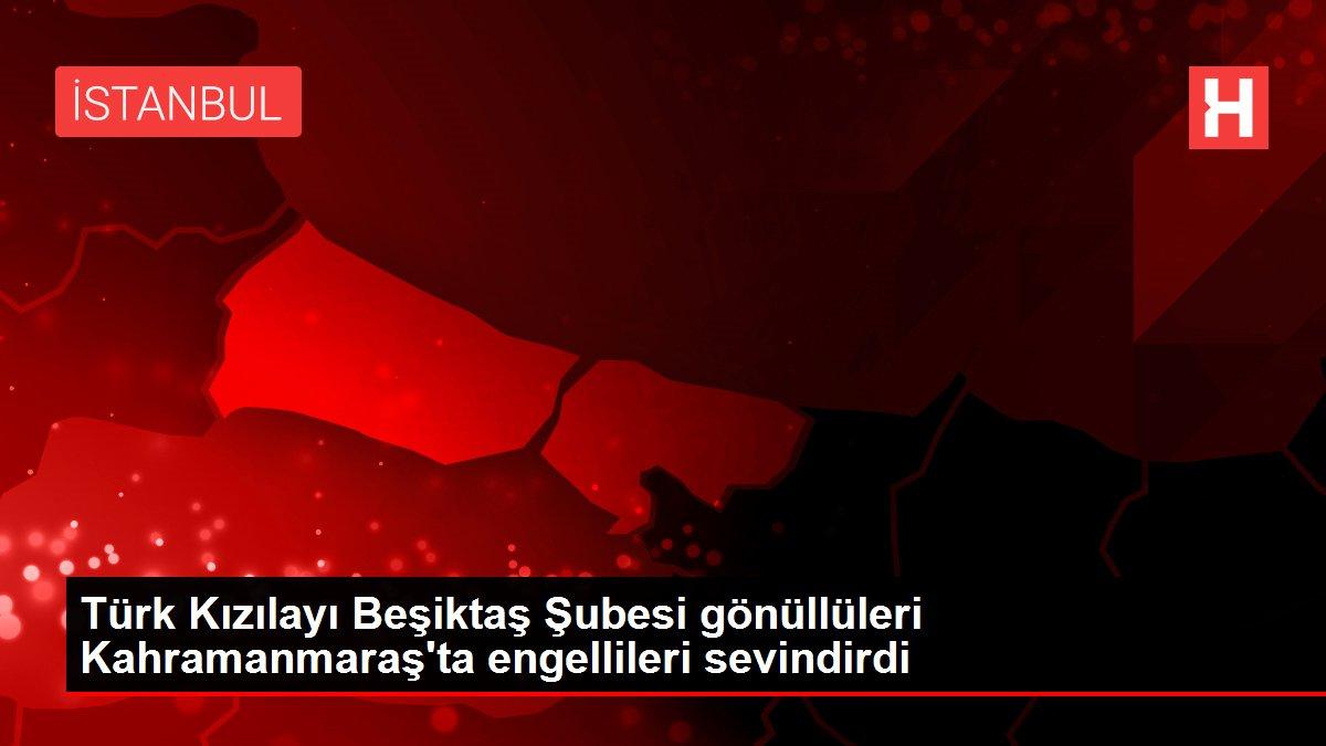Turk Kizilayi Besiktas Subesi Gonulluleri Kahramanmaras Ta