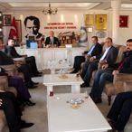 Şarkikaraağaç Belediye Başkanı Çarkacı'ya ziyaret