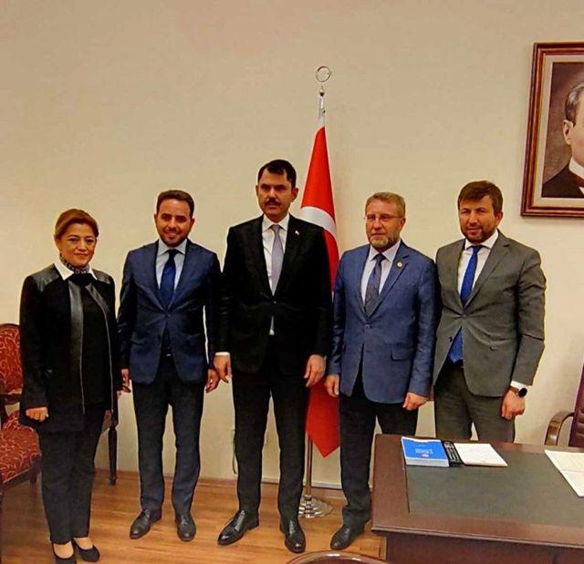 Başkan Demirci'den Bakan Kurum'a ziyaret