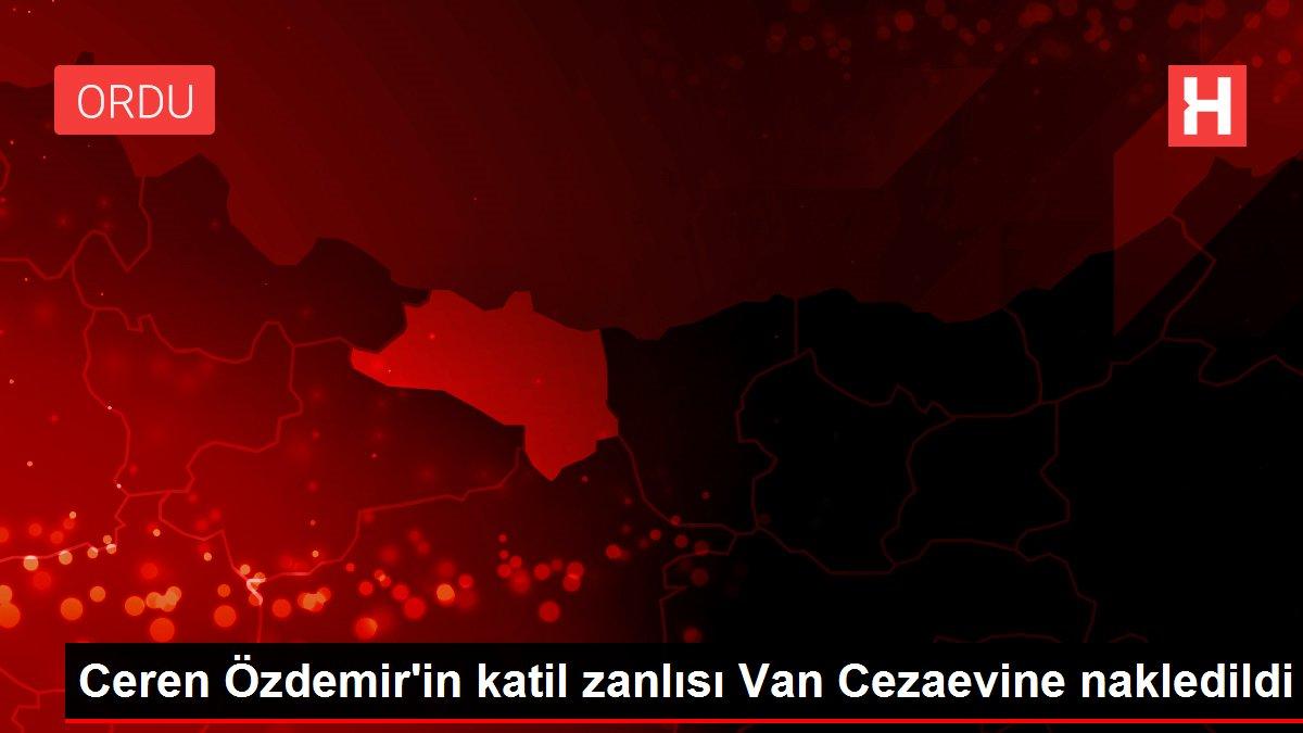 Ceren Özdemir'in katil zanlısı Van Cezaevine nakledildi