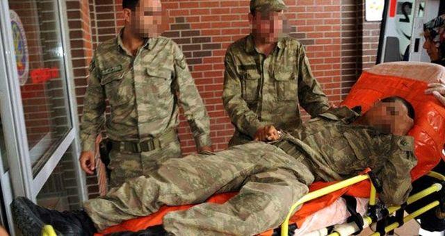 Çatışmada yaralanan askerin söyledikleri duygulandırdı: Parkamı serin ambulans kan olmasın