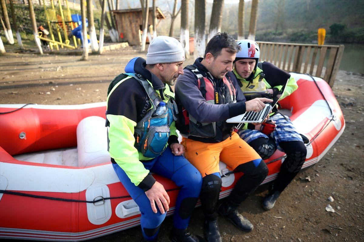AA'nın Yılın Fotoğrafları oylamasında raftingciler