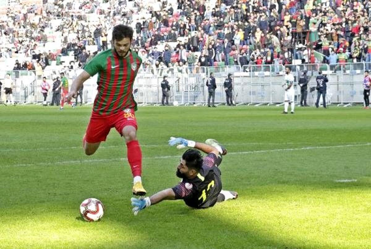 Amed Sportif Faaliyetler - GMG Kırklarelispor: 1-0