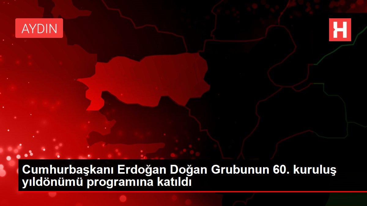 Cumhurbaşkanı Erdoğan Doğan Grubunun 60. kuruluş yıldönümü programına katıldı