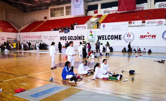 Eskrimde alt yaşlar Epe Açık Turnuvası Trabzon'da sona erdi