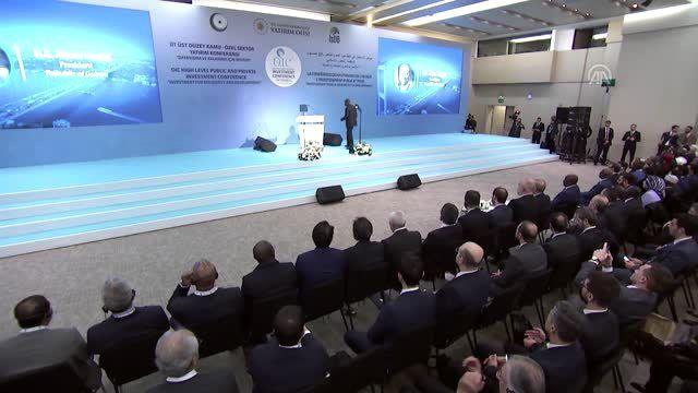İİT Üst Düzey Kamu ve Özel Sektör Yatırım Konferansı