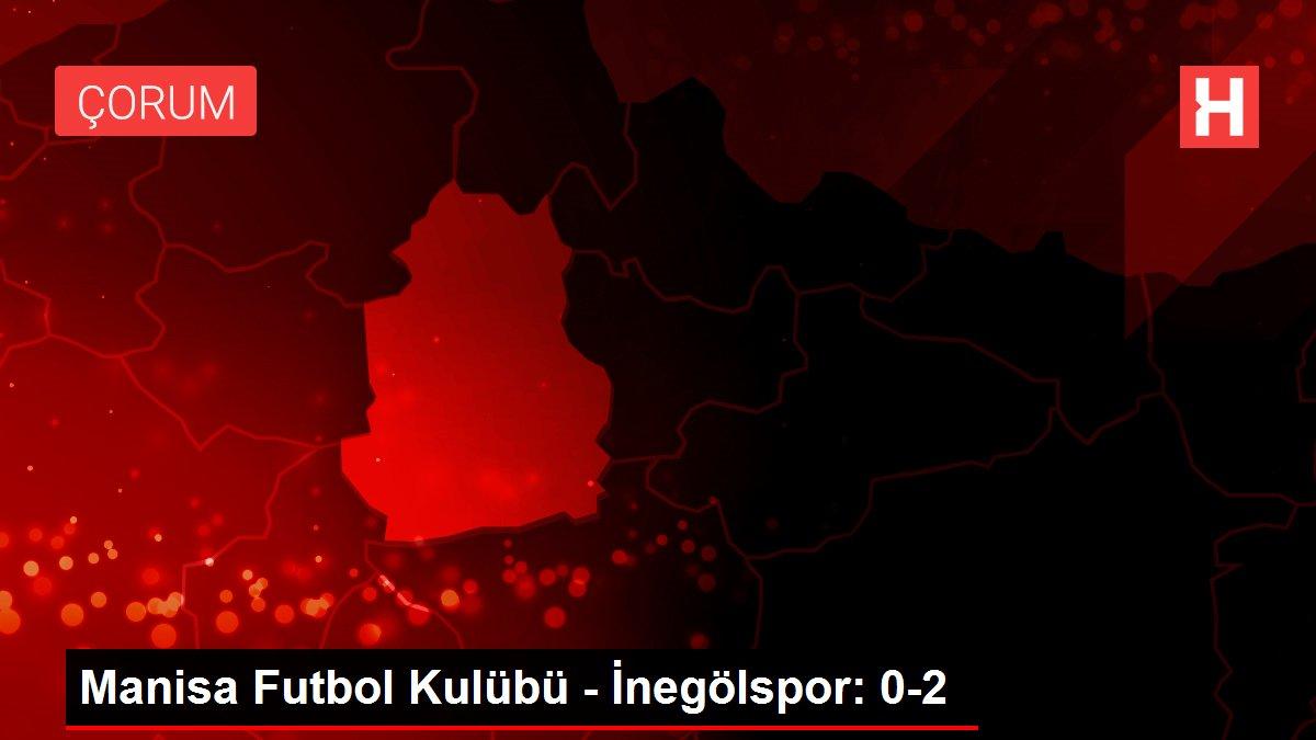 Manisa Futbol Kulübü - İnegölspor: 0-2