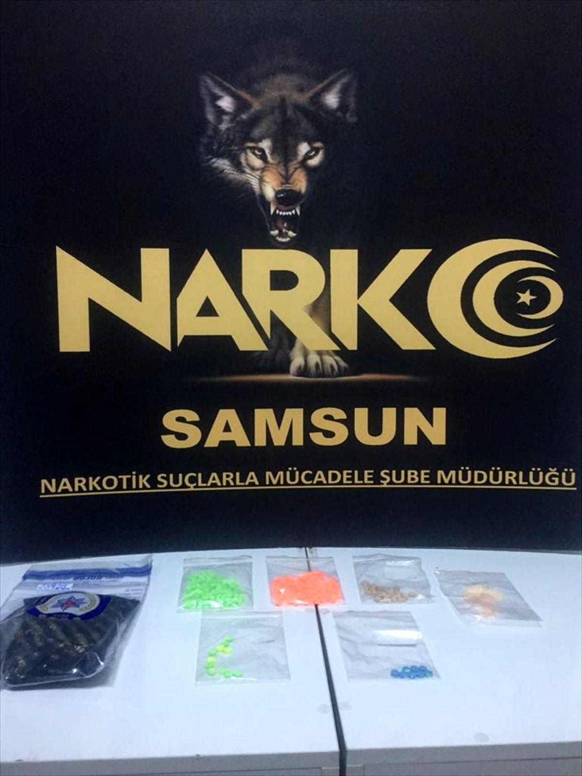Samsun'da uyuşturucu operasyonlarında 9 şüpheli gözaltına alındı