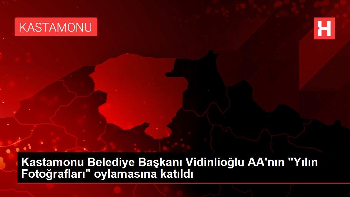 Kastamonu Belediye Başkanı Vidinlioğlu AA'nın