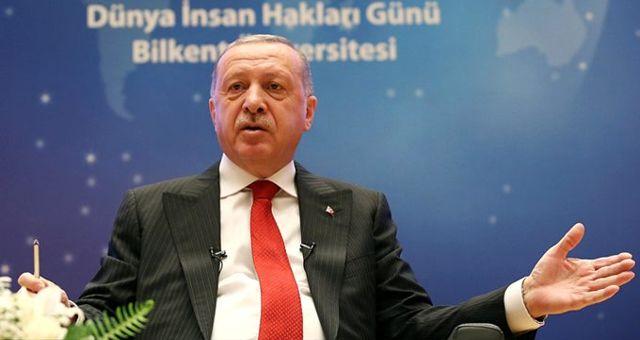 Cumhurbaşkanı Erdoğan'a