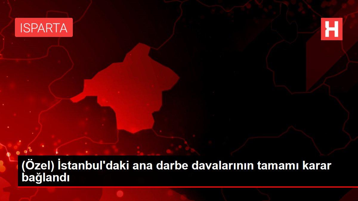 (Özel) İstanbul'daki ana darbe davalarının tamamı karar bağlandı