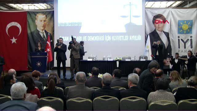Ankara akşener insan hakları ve demokrasi için kuvvetler ayrılığı programında konuştu- 1