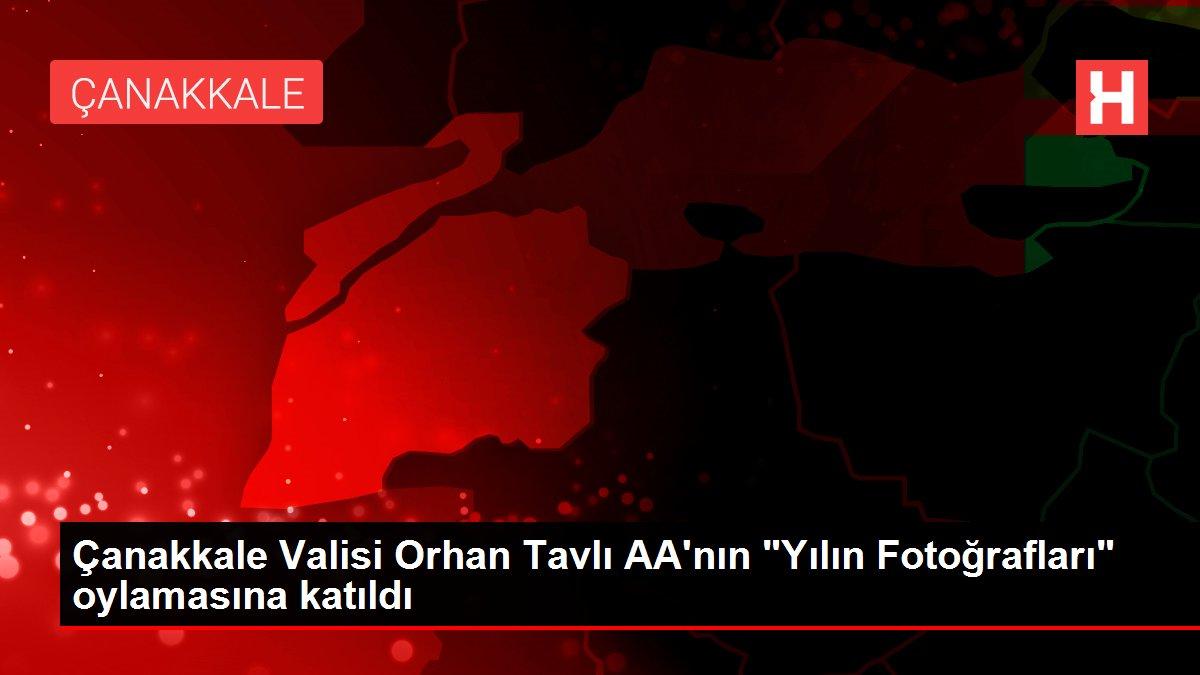 Çanakkale Valisi Orhan Tavlı AA'nın