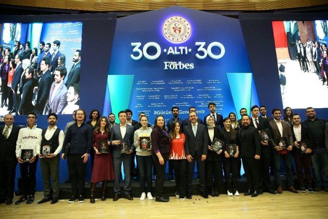 Gençlik ve Spor Bakanlığı '30 Altı 30' programına ev sahipliği yaptı